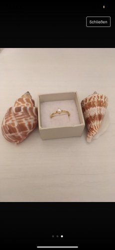 Statement Ring gold-colored-white