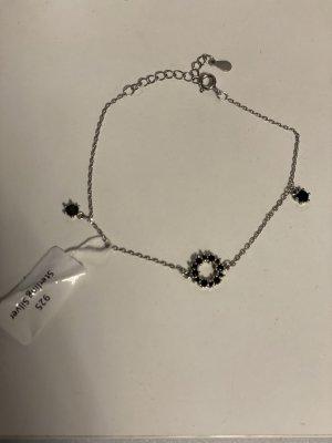 Filigranes Armkettchen, 925 Silber