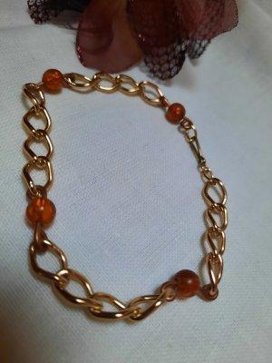 Filigranes Gliederkettenarmband mit Perlen