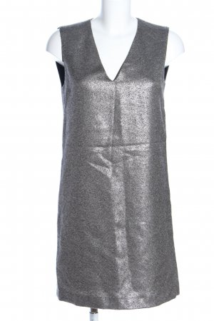 Filippa K A-Linien Kleid silberfarben Elegant
