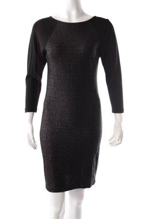Filippa K Bodycon Kleid schwarz Glitzer