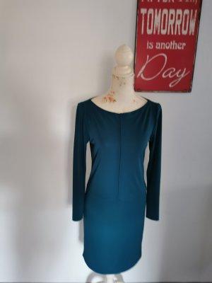 Filippa K Longsleeve Dress petrol-cadet blue