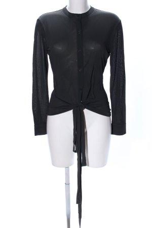 Filippa K Hemd-Bluse schwarz Business-Look
