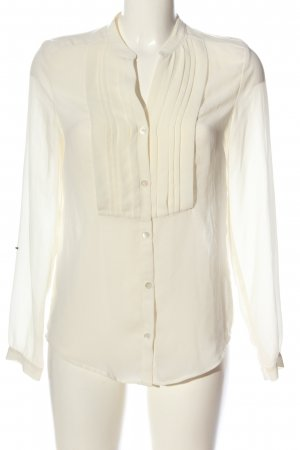 Filippa K Hemd-Bluse wollweiß Casual-Look