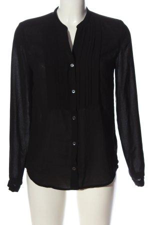 Filippa K Hemd-Bluse schwarz Casual-Look