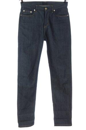 Filippa K Jeans a vita alta blu stile casual
