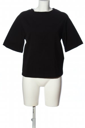 Filippa K Camicetta a maniche corte nero stile casual