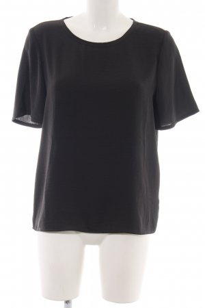 Filippa K Kurzarm-Bluse schwarz Business-Look