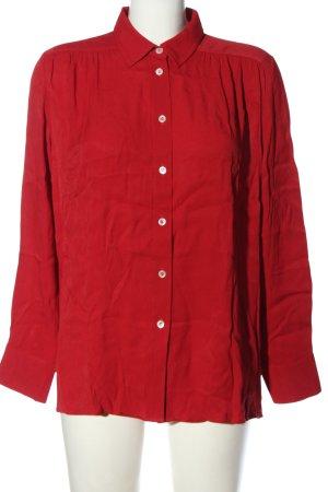 Filippa K Camicia a maniche lunghe rosso stile casual