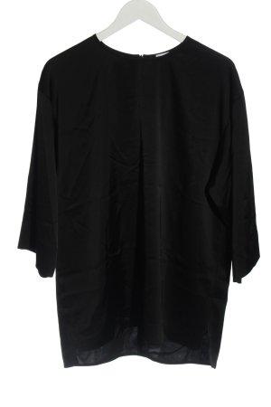 Filippa K Long-Bluse schwarz Casual-Look