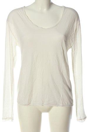 Filippa K Manica lunga bianco stile casual