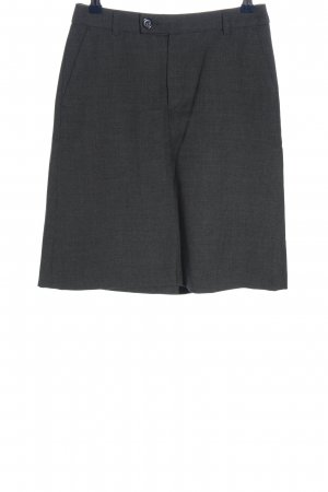 Filippa K Mini rok lichtgrijs zakelijke stijl