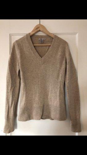 Filippa K V-Neck Sweater beige-camel