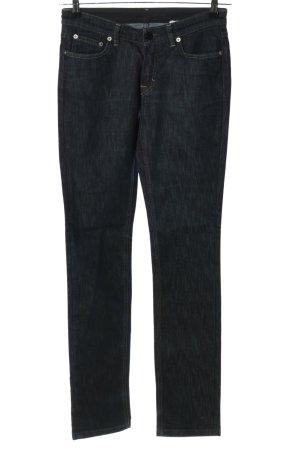 Filippa K Slim Jeans schwarz meliert Casual-Look