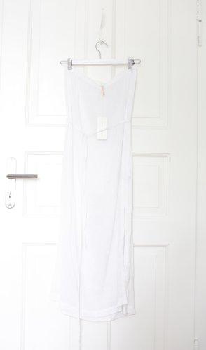 Filippa K Vestido bandeau blanco