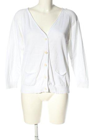 Filippa K Cardigan in maglia bianco stile casual