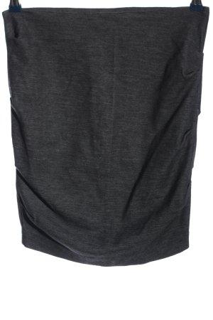 Filippa K Gonna lavorata a maglia grigio chiaro stile casual