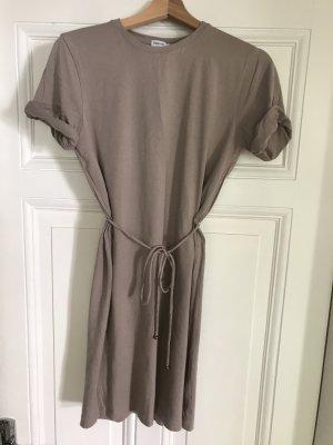 Filippa K Sukienka mini szaro-brązowy-beżowy