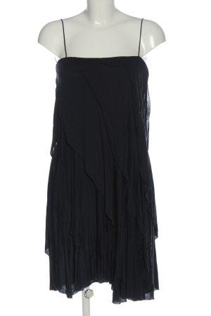 Filippa K Pinafore dress black flecked casual look