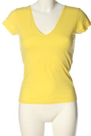 Filippa K Maglia con scollo a V giallo pallido stile casual
