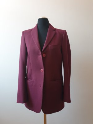 Filippa K Blazer in lana bordeaux-rosso mora