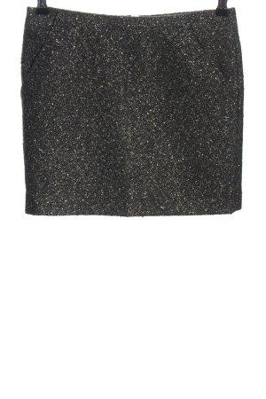Filippa K Wollrock schwarz-silberfarben Elegant