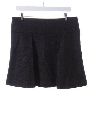 Filippa K Wool Skirt dark grey Metal elements