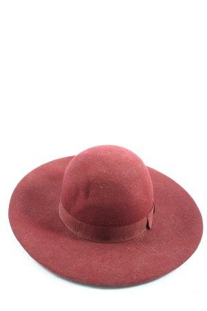 Filippo Catarzi Felt Hat red classic style