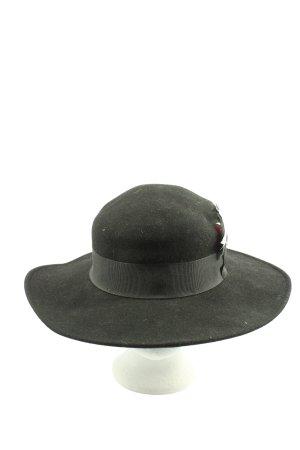 Filippo Catarzi Wełniany kapelusz czarny W stylu casual