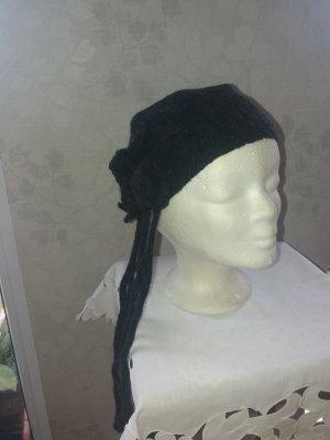 Royal Wool Cappello in tessuto nero