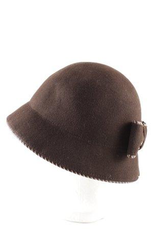 Felt Hat brown elegant