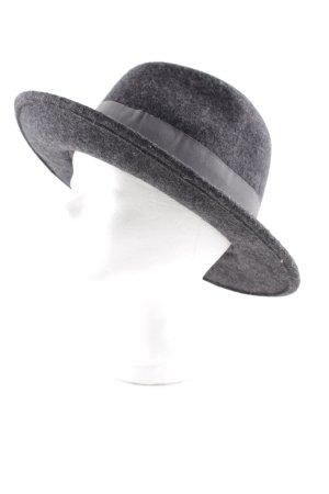 Chapeau en feutre gris style mode des rues