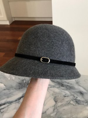 H&M Woolen Hat grey-black