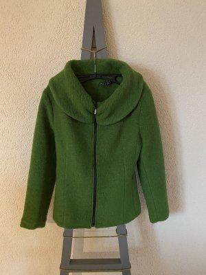 Wełniany sweter zielony
