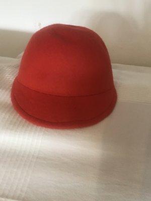 Chapeau en feutre orange