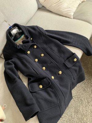 Filzmantel Navy von Zara