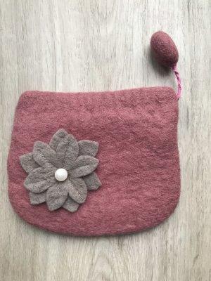 Mini sac or rose-mauve