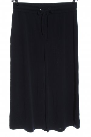 find. Falda pantalón de pernera ancha negro look casual