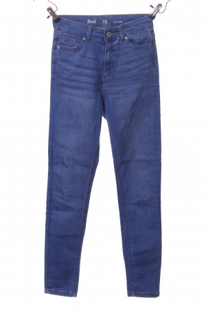 find. Hoge taille jeans blauw casual uitstraling