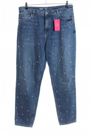 find. Karottenjeans blau Casual-Look