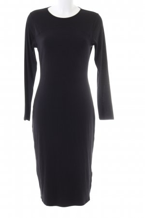 find. Langarmkleid schwarz Business-Look