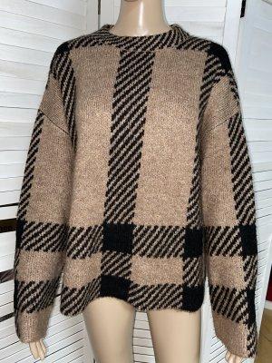 find. Jersey holgados marrón claro-negro