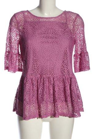 find. Slip-over blouse roze elegant