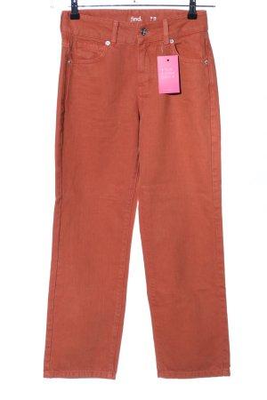 find. Slim Jeans hellorange Casual-Look
