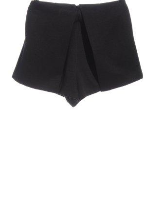 Finders Keepers Pantaloncino a vita alta nero stile casual