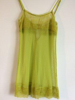 women'secret Pyjama pale yellow-pale green