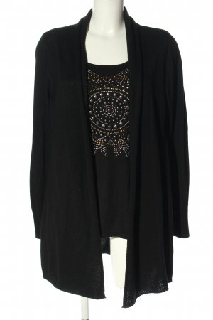 Finery Cardigan schwarz Casual-Look