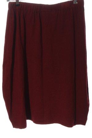 Finery Jupe tricotée rouge style décontracté
