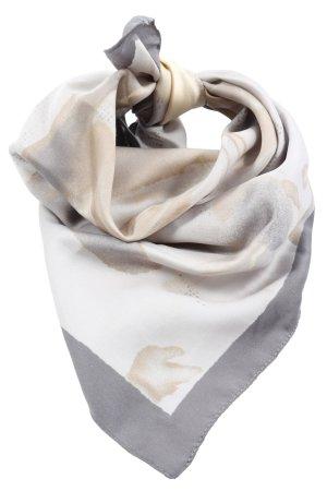 Finesse Szal letni jasnoszary-kremowy Abstrakcyjny wzór W stylu casual