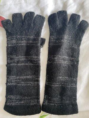 Guantes sin dedos negro